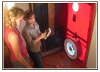 Trinity Environmental | blower door test